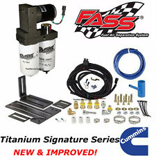 FASS Titanium Signature Fuel Pump System 165GPH For 2005-2018 Ram Cummins Diesel