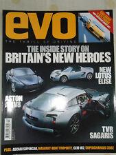 Evo No 65 Mar 2004 TVR Sagaris, Gallardo vs 911 Turbo