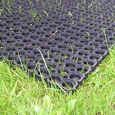 2x Heavy duty GRASS Rubber MAT playground golf course mat gateway mat filed mat