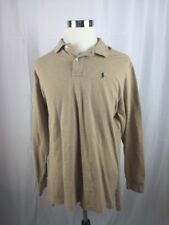 Polo Ralph Lauren Beige long sleeve XL Shirt -B11