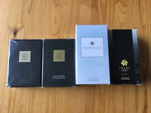 Bundle job lot Avon perfume little black dress Imari elixir perceive 4 bottles