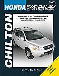 SHOP MANUAL PILOT RIDGELINE SERVICE REPAIR HONDA CHILTON BOOK 30400