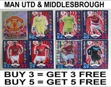 Match Attax Game Manchester United Football Trading Cards