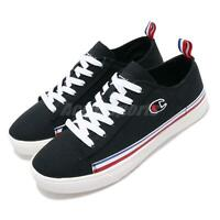 Champion Canvas C Black White Red Blue Men Casual Shoes Sneakers 91-2210111