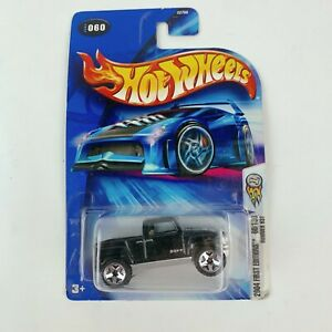2004 Hot Wheels #060 First Editions 60/100 Hummer H3T Black