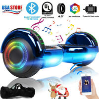 """Hoverboard Scooter 6.5"""" Self Balance Hover board Bluetooth LED w/ Bag Best Gift"""