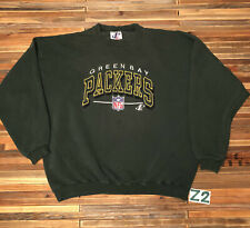 Vintage 90s Mens XL Packers Sweater Crewneck Pullover Rare Vtg Green Spellout Z2