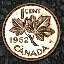 CANADIAN GEM 1962 - 1 CENT PENNY - Proof like - Nice