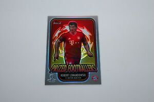 2020/21 - Topps Finest - Robert Lewandowski  / Prized Footbllers Card #PF-RL
