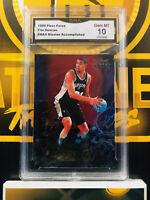 1999 Fleer Force Tim Duncan #MA4 - 10 GEM MINT GMA Graded NBA