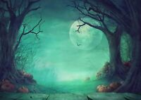 A1 | Spooky Halloween Forest Poster Art Print 60 x 90cm 180gsm Wall Decor #14268