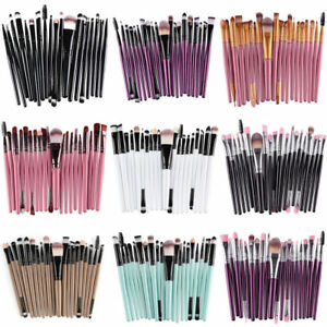 20 pcs/Sets Eye Shadow Cosmetic Makeup Brushes Set Lip Eyebrow Brush Kits Tools