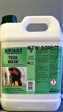 More details for 5 litre nikwax tech wash non-detergent cleaner wet weather clothing & equipment