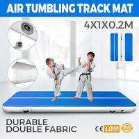 4M Tappetino Da Ginnastica Gonfiabile Air Track Tumbling Tappetino Per Palestra