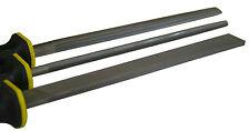 Metallfeile Flachfeile Halbrundfeile Rundfeile Metall Feilensatz 3 teilig 101150