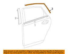 TOYOTA OEM 12-17 Prius V Exterior-Rear-Black Out Tape Left 7592447030
