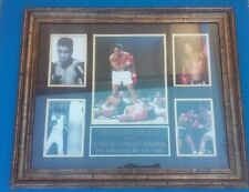 ~Muhammad Ali~ (5) Photo(s) Framed ~Authentic~ Center Photo Autographed/Signed