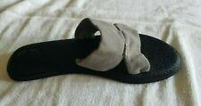 NEW SANUK Yoga Mat Capri Canvas Knit Sandals Shoes Slides Grey Gray 7