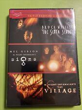 The Sixth Sense / The Village / Signs (Dvd)