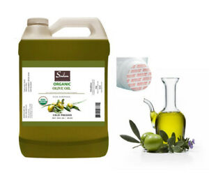 1 GALLON HIGH QUALITY 100% PURE ORGANIC UNREFINED OLIVE OIL EXTRA VIRGIN