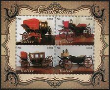 Peru 2014 Block 97 Historische Kutschen Pferdewagen Old Carriages Postfrisch MNH