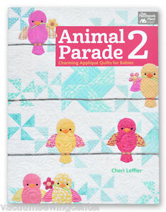 Animal Parade 2 Book Charming Applique Quilts for Babies