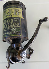 RARE Antique MJB Coffee Grinder, 1900s