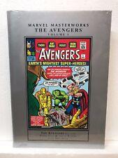 Marvel Masterworks Avengers Vol 1 #1-10 - Hardcover Hc - New - Msrp $50