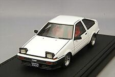 ignition model 1/43 Toyota Sprinter Trueno 3Dr GTV (AE86) White IG0489 Resin