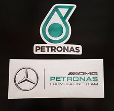 2 PACK - AMG Petronas F1 Vinyl Sticker Mercedes Hamilton - Team Schumacher