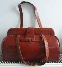 1950's / 60's Vintage Leather Handbag