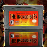 The Incredibles [Nintendo Game Boy Advance Disney Pixar Action Super Heroes Kids