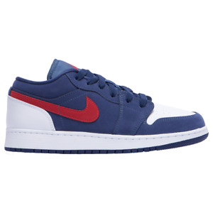 Nike Air Jordan 1 SE Low 🔥 USA Blue Gym Red Olympic 🔥 GS Size 6Y
