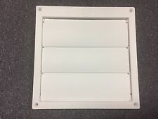 Speedi-Products EX-HLFW 06 6-Inch Diameter Louvered Plastic Flush Hood White ...