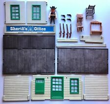 Playmobil 3423 sheriff's office western Cowboy 1976
