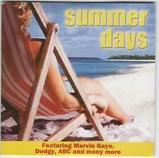 SUMMER DAYS - PROMO CD: DODGY, SHANICE, MARVIN GAYE, JACKIE WILSON, ABC ETC