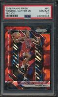 Wendell Carter Jr 2018 Panini Prizm Red Ice Rookie Card #80 PSA 10 Gem Mint