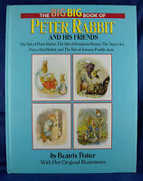 Big Big Book of Peter Rabbit and His Friends by Beatrix Potter (1988, Hardcover)