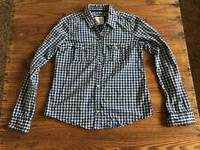 6ec74abdc Used - Lady Shirt ABERCROMBIE   FITCH Camisa Mujer - Size L - Cuadros azules