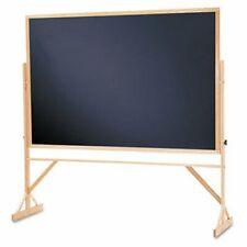 Quartet Reversible Chalkboard Withhardwood Frame 48 X 72 Qrtwtr406810