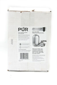 PUR Water Chrome Faucet Filtration System FM-3700B Advanced with Mineral Clear