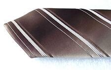 Mens striped tie by Debenhams Vintage 1970s polyester tie Diagonal stripes