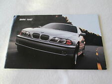 1997 BMW Brochure Z3 Roadster M3 Coupe & Sedan 840 540i 750iL 850Ci 528i Catalog