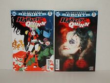 Harley Quinn 2016 #1A + #1B (NM or 9.4) - Sold Out!