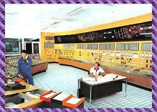 Carte postale - Centre de production Nucléaire du Bugey, Salle de commande