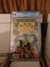 Moon Knight #1 -  CGC 9.0 - 1st Raoul Bushman - has not been pressed