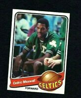 NMT 1979 Topps Basketball #23 Cedric Maxwell.