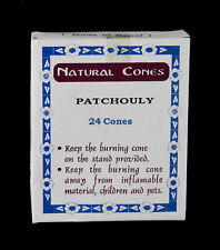 Incienso Nepal Patchouli 24 Conos 100% Natural 5660