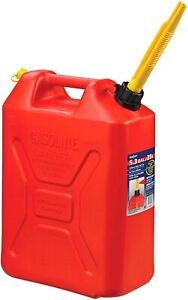 Scepter 3609 20 Liter 5.3 Gallon Fuel Can Military Style Red