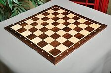 "USCF Sales Indian Rosewood & Maple Wooden Chess Board - 2.25"" With Notation"